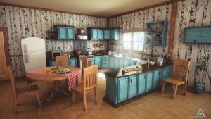 Cartoon Kitchen by AhmadTurk