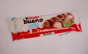Kinder bueno drawing by BarbieSpitzmuller