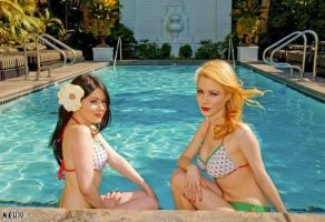 bathing beauties by candeecampbell
