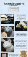 :.Sculpting tips - Whiskers.: by XPantherArtX
