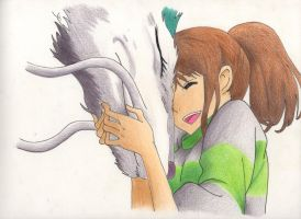 Sen to Chihiro no kamikakushi // Spirited Away by maxii740