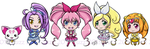 Suite Chibi Precure by fuzzykittn