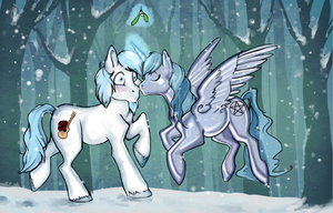 Winter Kisses by reaperfox