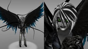 Alex Farrior (Dark Angel Mode) (Shadelock: Nexus) by Stormtali