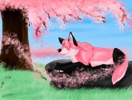 AT: Sakura by TheDaylightWolf