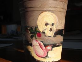 Cup Skull by ObsequiousKid