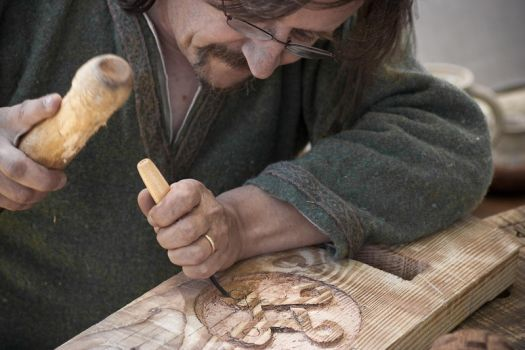Viking's Carving by TrollDuNord