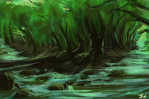 Speedpaint 1- Willows by AgentWhiteHawk