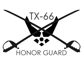 TX-66 Honor Guard by aguba