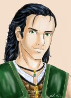 Lucas Hawke AKA Loki by sharem