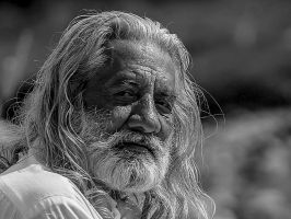 The Old Fisherman by InayatShah