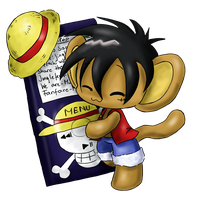 Ipod Luffy by LeniProduction
