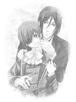 Ciel and Sebastian by Alicetiger