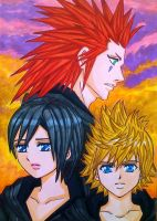Roxas, Xion and Axel : A tragic fate by dagga19