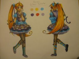 Outfit contest- Copic Marker traditional Drawing! by theanimemaster2