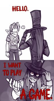 I Want To Play A Game by Ryouhiko-Ankuu