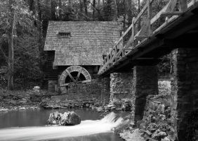 old mill by icondigital