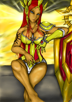 League of Legends : Leona, the Attractive Dawn by Lel0uch