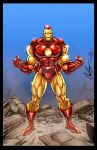 Iron Man Print by RossHughes