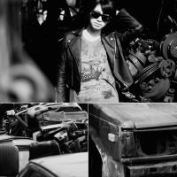 junk yard girl by ivan-christyanto
