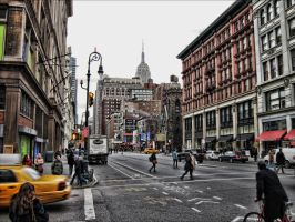 West 19th and Sixth Ave by steeber