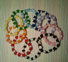 Colored stars Kandi by anne-t-cats