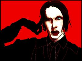 marilyn manson by craproy