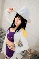 One Piece: Baroque Works - Miss All-Sunday by ruby-hearts