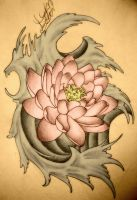 Lotus Tattoo by MrsUnderground