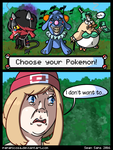 Choose Your Pokemon! by PapaPicosa