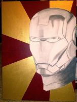 Iron Man WIP by geekypnai
