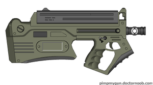 Stracchian SMG by Robbe25