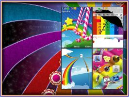 Rainbow Theme For Nokia by SiNoT