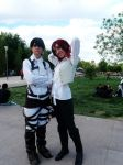 Isabel Magnolia and Levi-Cosplay 2014 by Asphil