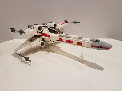 Updated X-Wing by FiyCsf