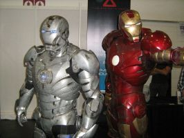 iron man suits by caramellcube