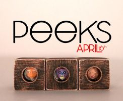Peeks for April by siraudio