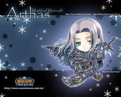 WOW:World of Warcraft-Arthas-2 by Shenjou