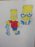 Request: Bart simsion by Dragongscales2011
