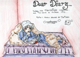 Dear Diary: Sesshomaru by Caracasa