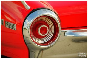 The Left Tail Light on A 1962 Ford Thunderbird by TheMan268