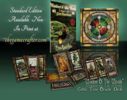Wisdom Of The Woods - Oracle - Promo Mock-Up by Branawen