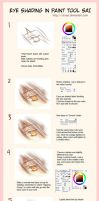 Eye Coloring Tutorial by chuiyi