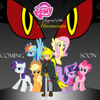 My Little Pony: Legend of the Harmonia Poster by RPD490