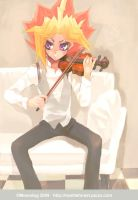 Yami and Violin by Moondogla