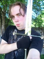 Behold the Sword of Elendil by LordFenrir