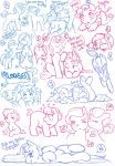 Drawing ponies! :D by jointsupermodel
