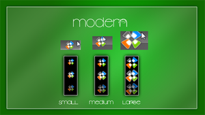 """Modern"" for Windows 7 by LordReserei"