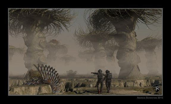 The exploration of the planet Urkaschar by arteandreas