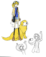 Adventure Time-Style Self by Blue-and-Dog